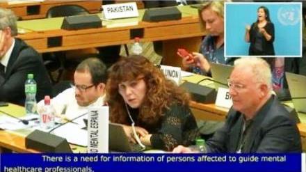 Salud Mental España en la ONU