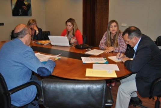 Reunión del CERMI Asturias con representantes de FORO e IU