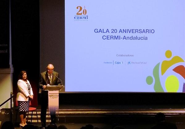 Comienza la gala de entrega de los Premios CERMI Andalucía 2018