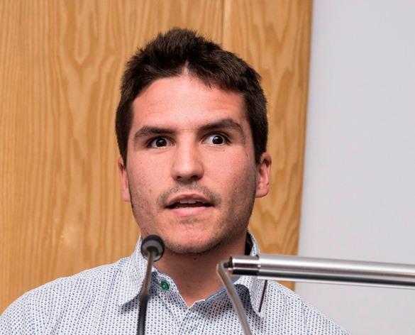 Pablo Cantero, alumno de la Escuela Digital de Fundación ONCE