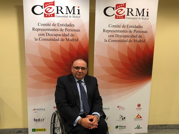 Óscar Moral Ortega, nuevo presidente del CERMI Comunidad de Madrid