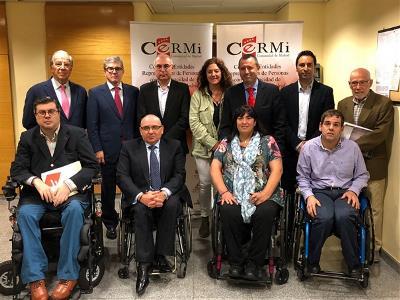 Nuevo Comité Ejecutivo del CERMI Comunidad de Madrid