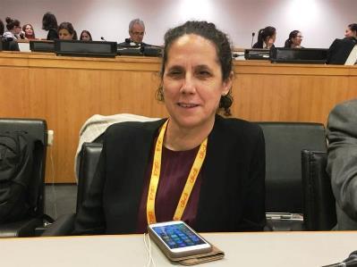 Ana Peláez, miembro del Comité de la CEDAW, Convención para la Eliminación de la Discriminación contra la mujer de Naciones Unidas