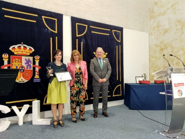 La Fundación CERMI Mujeres recoge el 'Premio Salud Mental 2018 Castilla y León'