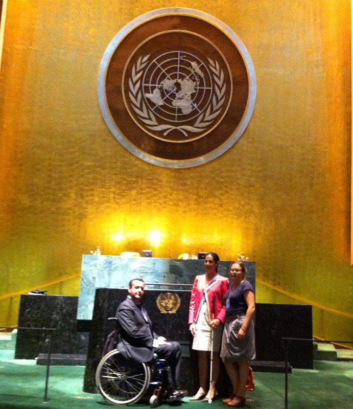 El CERMI en la sede de Naciones Unidas en Nueva York