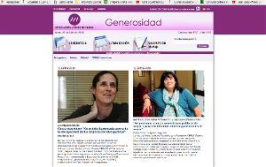 Imagen de la portada del boletín 'Generosidad' Nº 37