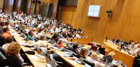 """jornada, organizada por el PSOE, sobre la """"Ley Integral de Igualdad de Trato y No Discriminación"""" (Imagen de la web del PSOE)"""