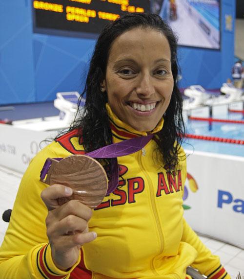 Teresa Perales, la reina del equipo paralímpico español en Londres 2012