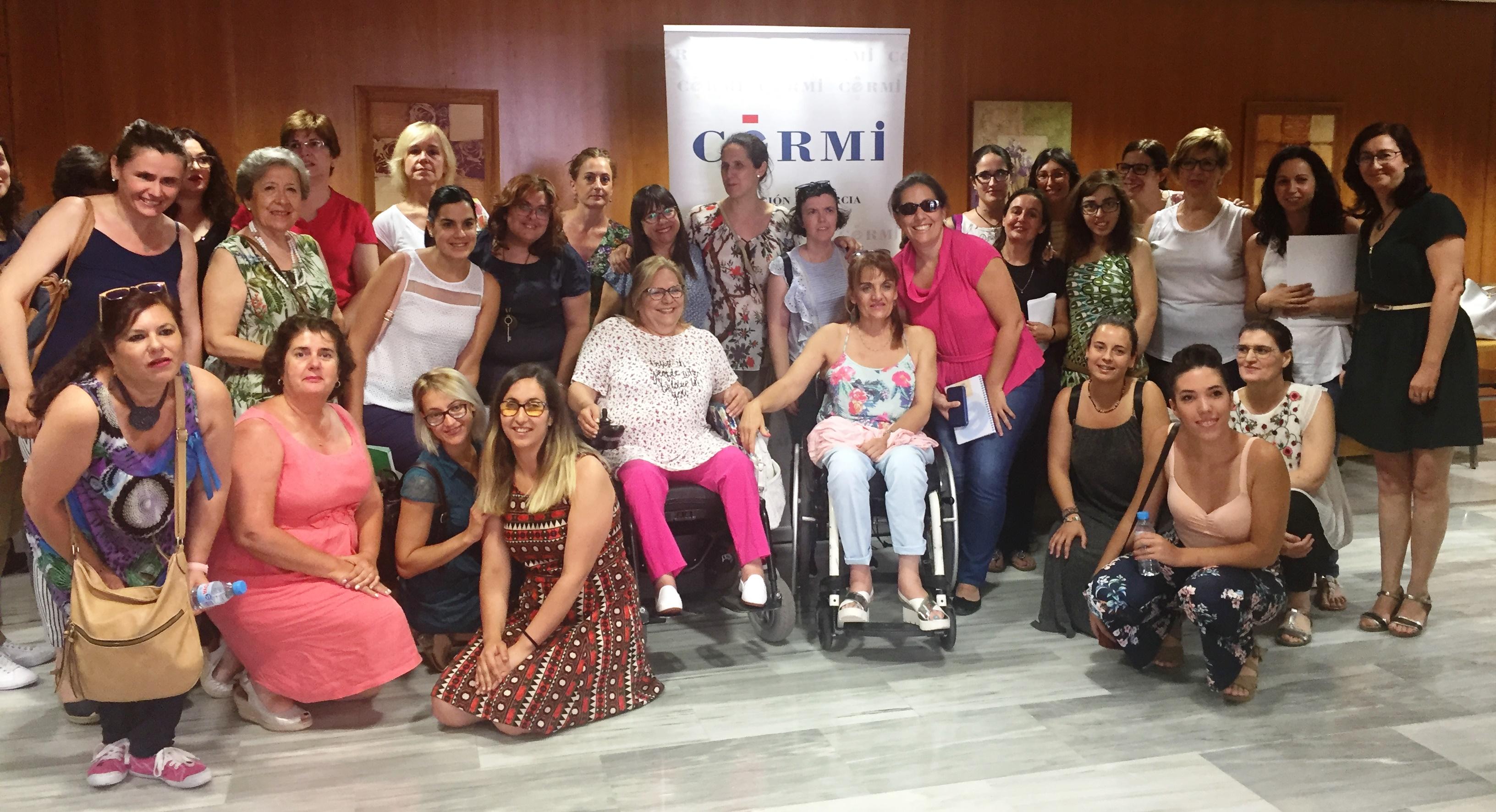 Encuentro en Murcia para organizar el II Foro Social de Mujeres con Discapacidad