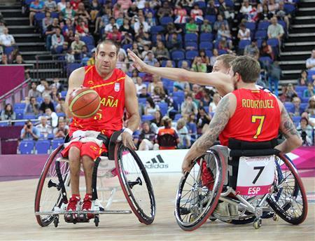 La selección española de baloncesto en silla de ruedas fue la revelación en Londres 2012