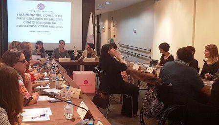 Consejo de Participación de Mujeres de la Fundación CERMI Mujeres