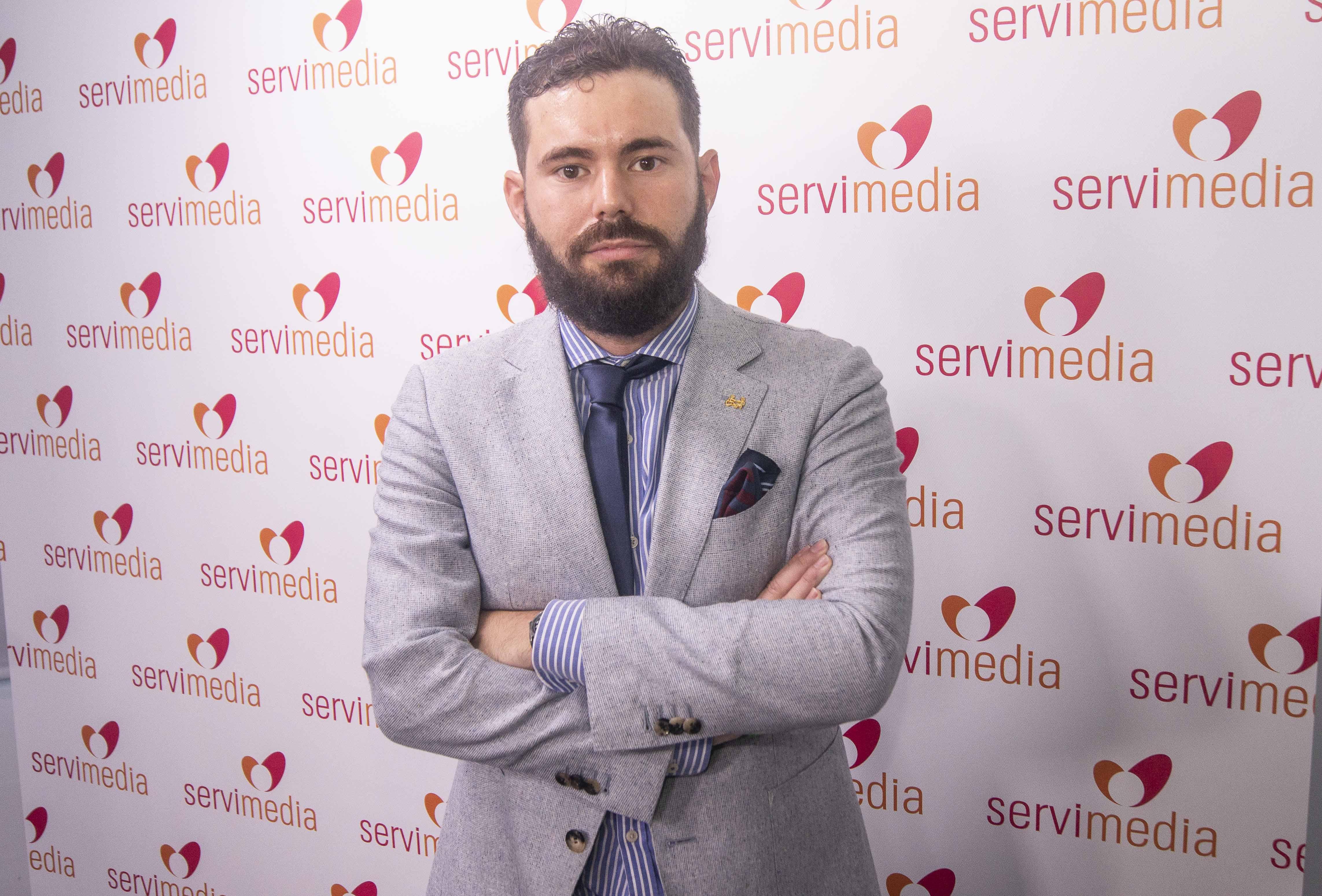 Daniel-Aníbal García, entrevistado en Servimedia.