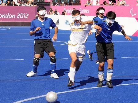 La selección española de fútbol 5 para ciegos logró la medalla de bronce