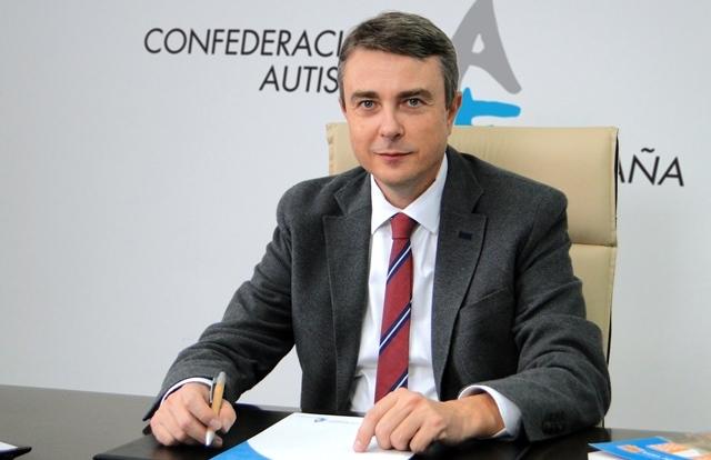 Miguel Ángel Casas, presidente de Autismo España.