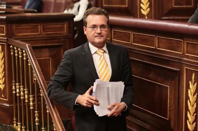Diego Clemente, portavoz de Discapacidad de Ciudadanos en el Congreso de los Diputados