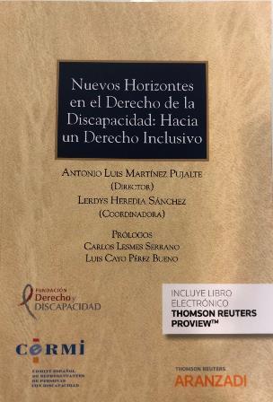 Portada de la publicación 'Nuevos horizontes en el Derecho de la Discapacidad: hacia un Derecho inclusivo'
