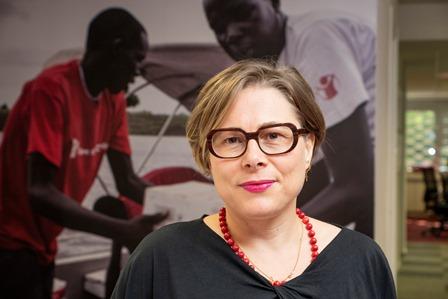 Ana Sastre, directora de Sensibilización y Políticas de infancia