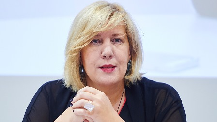 Dunja Mijatovic, comisionada europea de Derechos Humanos del Consejo de Europa (Imagen de la web del Consejo de Europa)