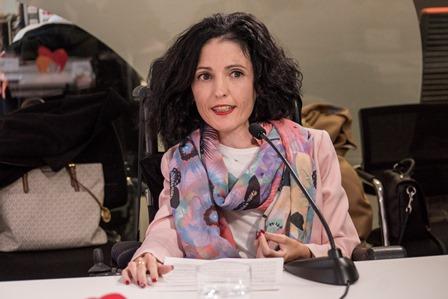 Virginia Felipe, portavoz de Discapacidad de Unidos Podemos en el Senado