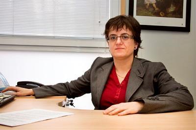 Marta Valencia, presidenta de CERMI Aragón