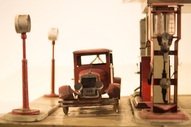 Gasolinera vieja