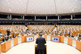 Sesión del Comité Económico y Social Europeo (CESE) durante la conmemoración del 60 aniversario