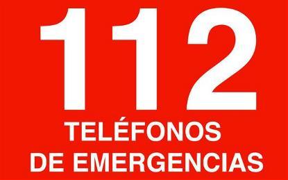 Logo Teléfono 112.