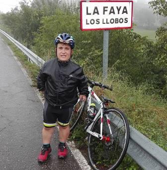 Felipe Orviz, abogado y ciclista aficionado