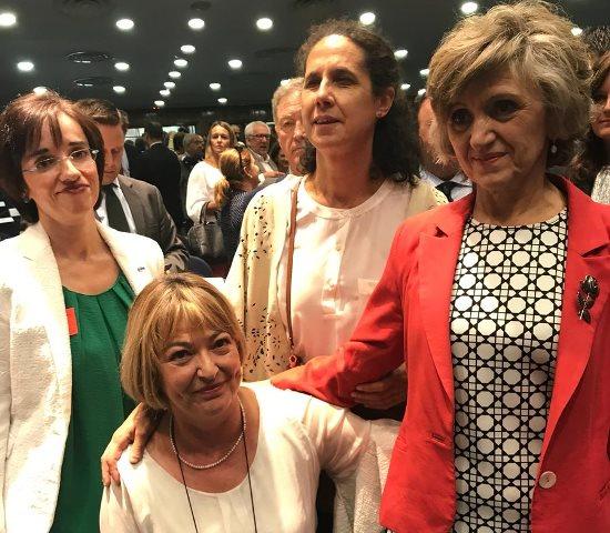 El CERMI y la Fundación CERMI Mujeres asisten a la toma de posesión de María Luisa Carcedo como Ministra de Sanidad, Consumo y Bienestar Social