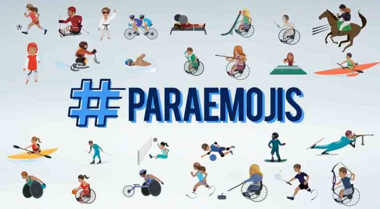 Emojis Paralímpicos.