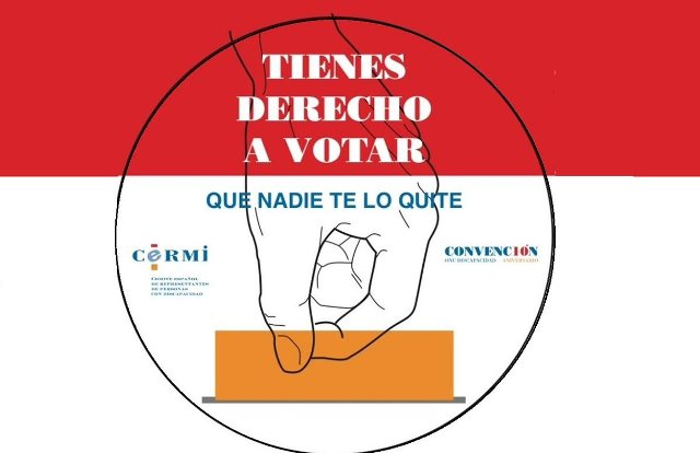 Ilustración sobre el derecho a votar