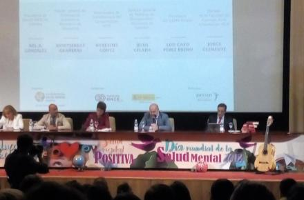Representantes del CERMI en la jornada sobre Salud Mental.
