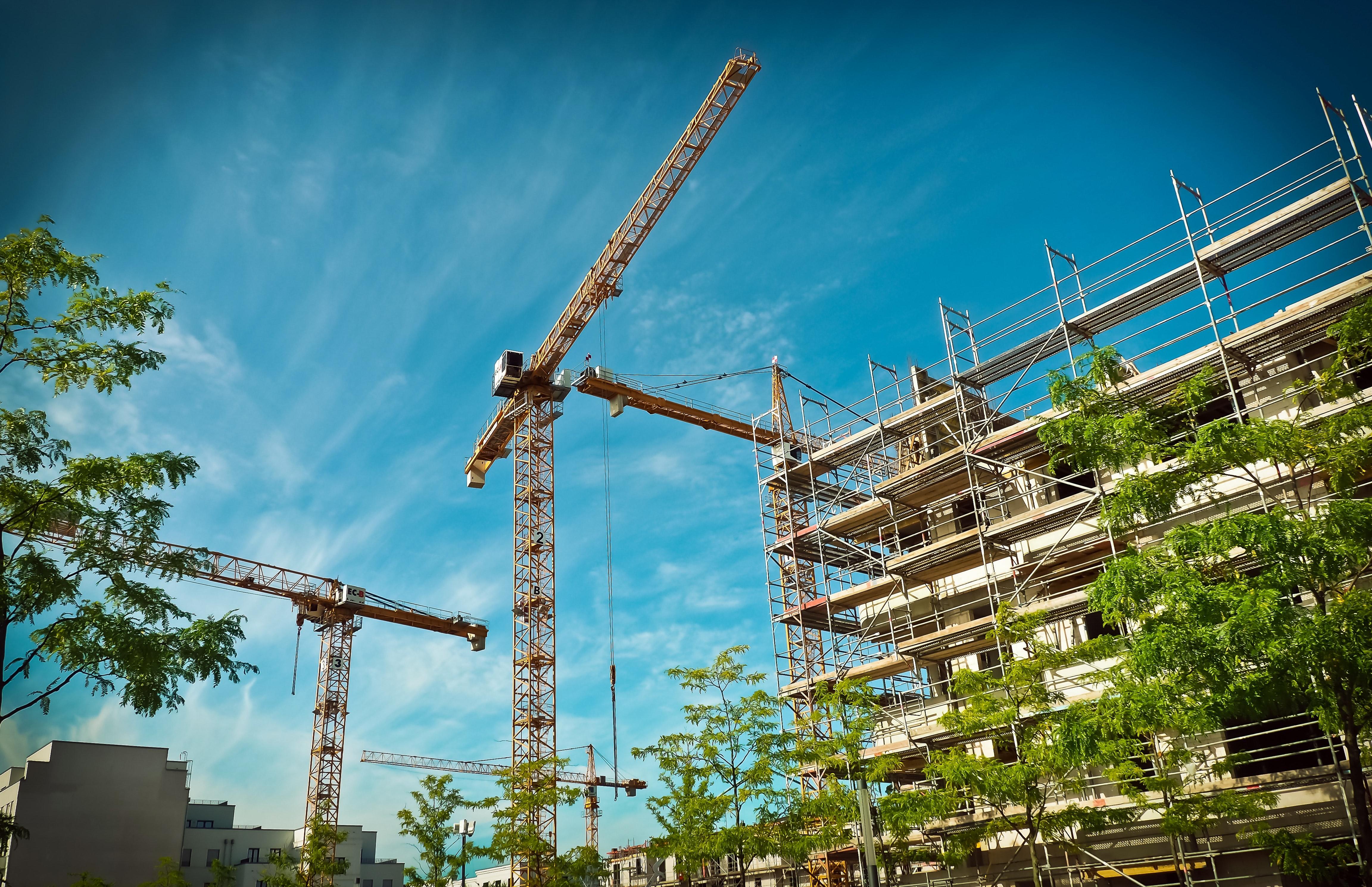 Edificio en construcción.