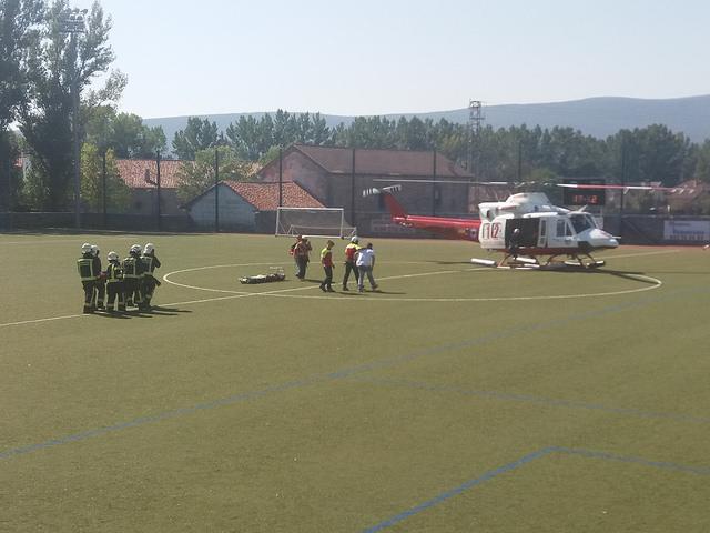 Simulacro de emergencias con CERMI Cantabria.