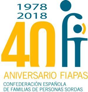 Logotipo de Fiapas en su 40 aniversario