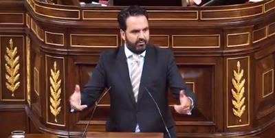 Íñigo Alli, portavoz del Grupo Mixto en la Comisión para las políticas integrales de la discapacidad, interviene en el Congreso en defensa de la reforma de la Loreg