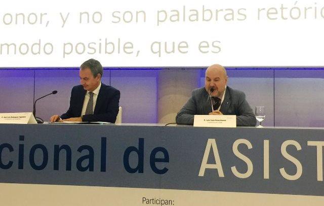 Zapatero destaca la figura del asistente personal entre los principales logros de la Ley de Atención a la Dependencia