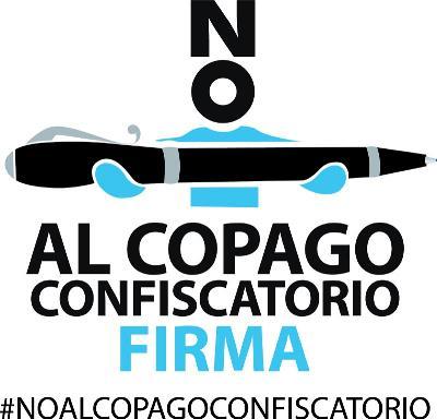 Logotipo de la campaña del NO al copago confiscatorio