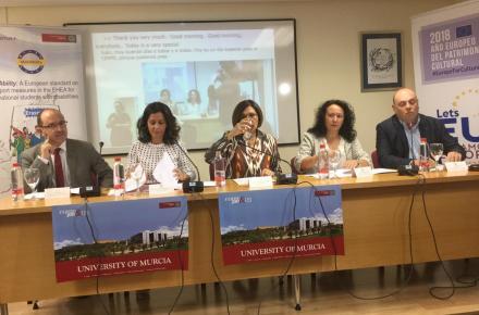 Presentación de las primeras conclusiones del proyecto Mobiabitily que cuenta con la colaboración de CERMI Región de Murcia