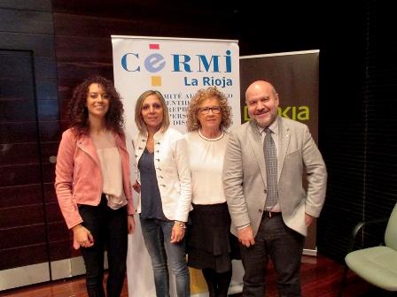El presidente del CERMI, Luis Cayo Pérez Bueno, en la jornada celebrada en Logroño sobre 'La figura del asistente personal'