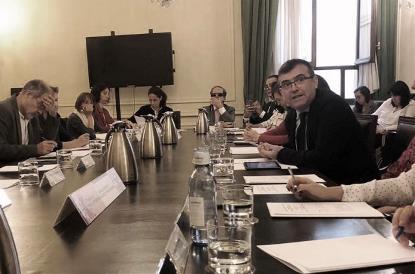 Seminario de trabajo sobre la reforma del artículo 49 de la Constitución organizado por el Centro de Estudios Políticos y Constitucionales