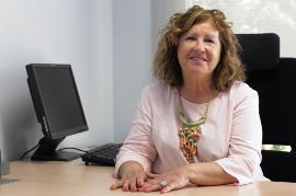 Manoli Muro, presidenta de CERMI La Rioja