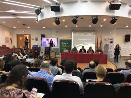Imagen durante la Jornada de Desarrollo Rural Inclusivo que se celebró en Ciudad Real