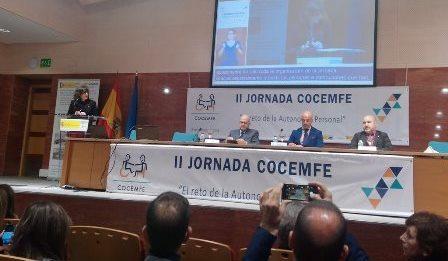 II Jornada Cocemfe: El reto de la Autonomía Personal