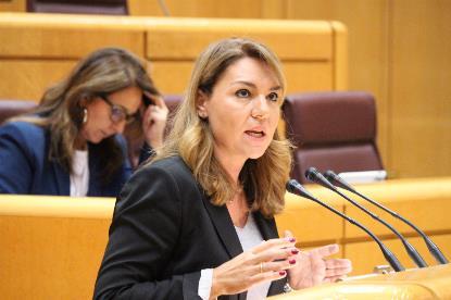 Susana Camarero, en el Senado