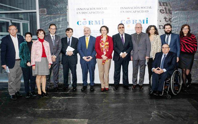 El CERMI tras la reunión mantenida con la ministra de Trabajo, Migraciones y Seguridad Social, Magdalena Valerio en el Hotel Ilunion Atrium de Madrid