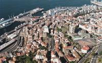 Imagen aérea de la ciudad de Vigo