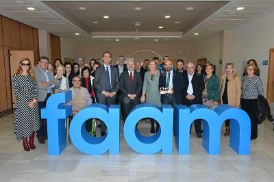 El CERMI entrega el 'Premio cermi.es 2018'  el 'Premio cermi.es 2018' a la Federación Almeriense de Personas con Discapacidad (FAAM)