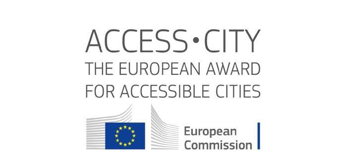 Logo del concurso Ciudad Accesible.