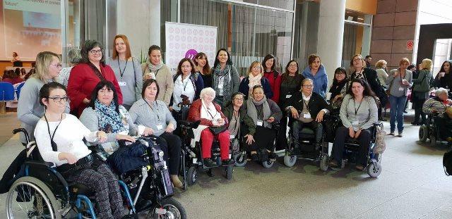 Mujeres de Femaden en el II Foro Social de Mujeres con Discapacidad